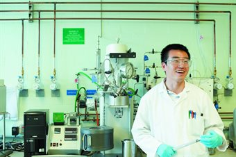 carbon capture in laboratory